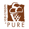 Logo Pure ice-cream