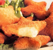 FROZEN SNACK, FINGER FOOD - FROZEN CHEESE APPETIZERS Frozen Emmental cheese stars