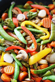 FROZEN MIXED VEGETABLES - STIR FRIES